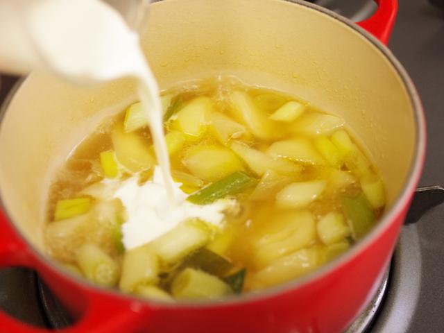 ジンジャーとブラックペパーで冬のあったかスープ05