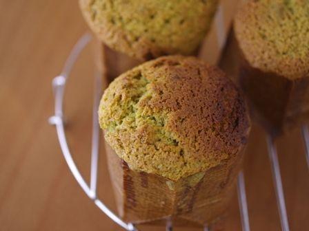 マロンペーストでつくる抹茶のカップケーキ03