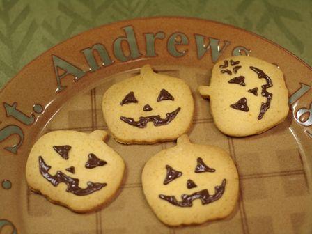 ハロウィンのクッキー☆ジャック・オー・ランタン