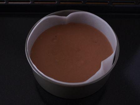 ホットケーキミックスで簡単チョコレートケーキ03