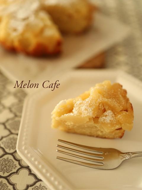 ホットケーキミックスのりんごのケーキ
