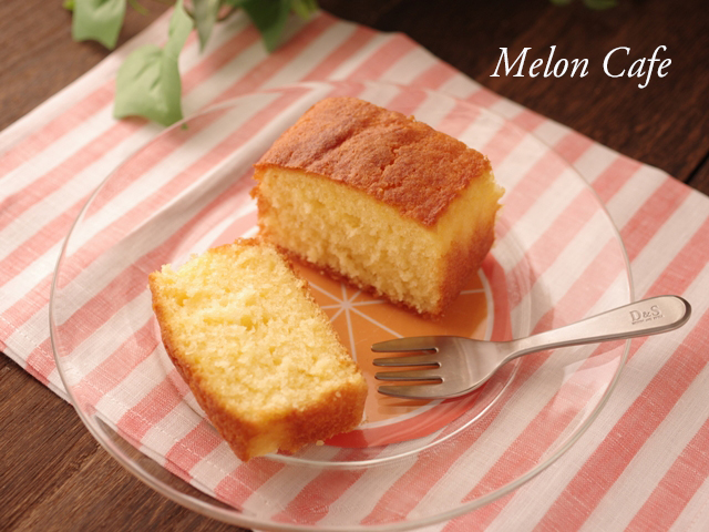 ふんわりやわらか簡単オレンジケーキ08