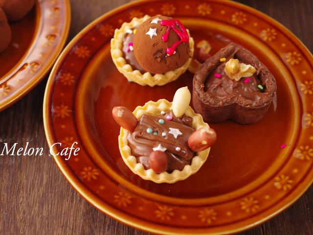 お菓子作り教室チョコレートガナッシュのタルト02