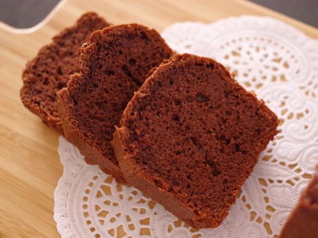 ホットケーキミックスの本格チョコレートケーキ07