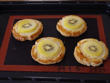 ゴールドキウイのフルーツケーキパン06