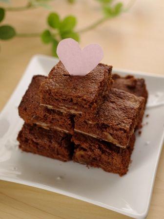 香ばしアーモンドのチョコレートブラウニー00