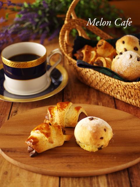 ホットケーキミックスでカフェ朝食パン2種aa