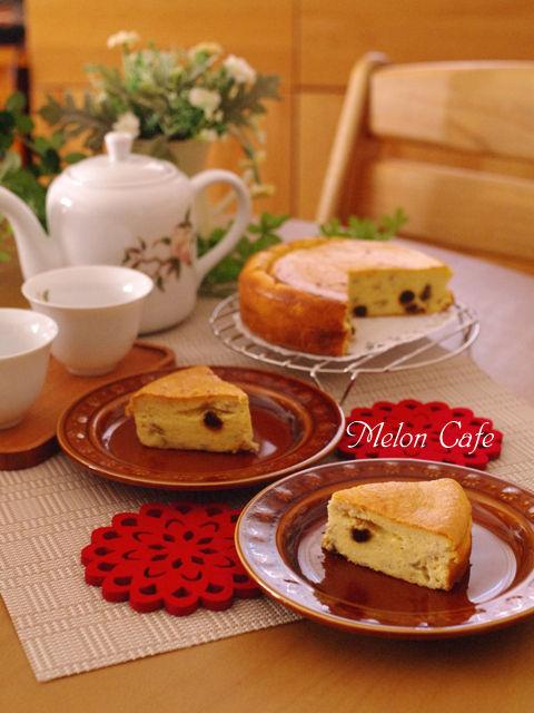 ホットケーキミックスで簡単バナナチーズケーキ