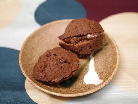 ガナッシュのチョコレートケーキb
