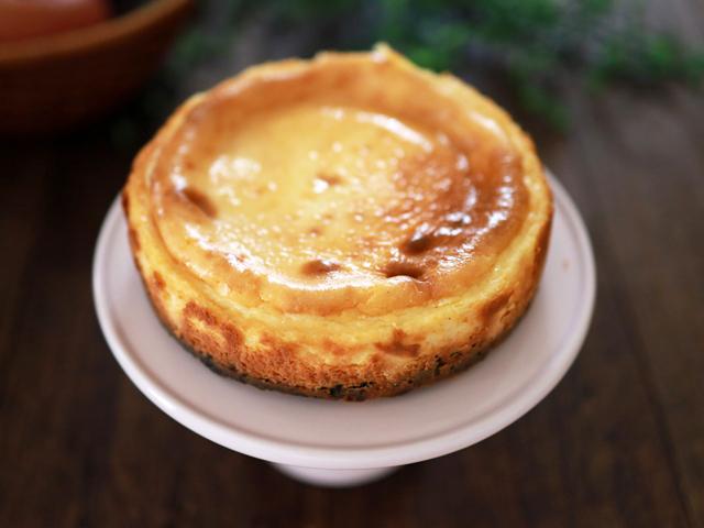 チョコチップココア台のチーズケーキ05