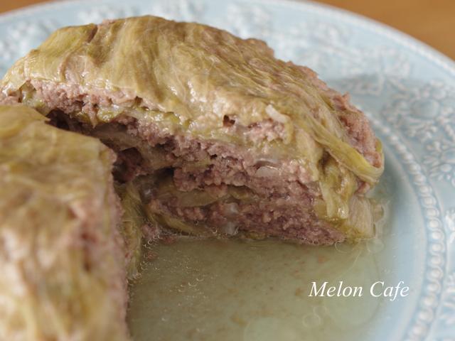 レタスとひき肉のごちそうミルフィーユ04