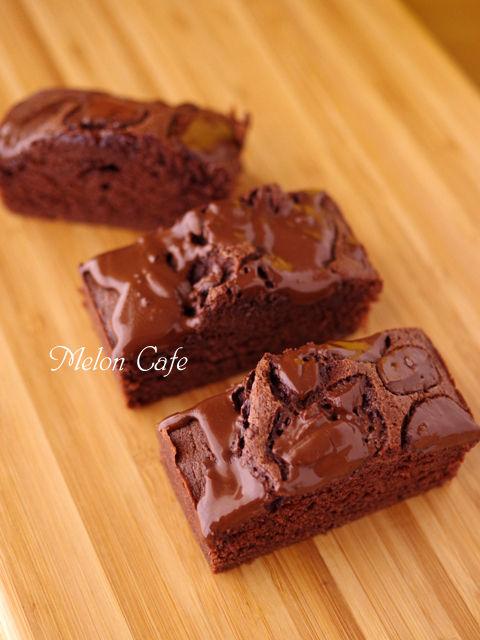 たっぷりチョコのパウンドケーキ05