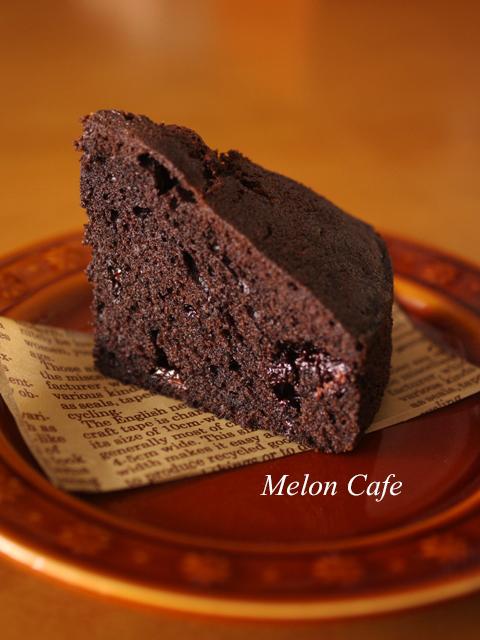 超簡単チョコレートケーキ父の日に