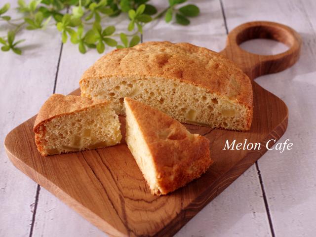 りんごのブレッド簡単ホットケーキミックスパン00