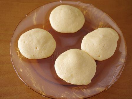 ホットケーキミックスとレンジで作るもっちり白どら焼き03