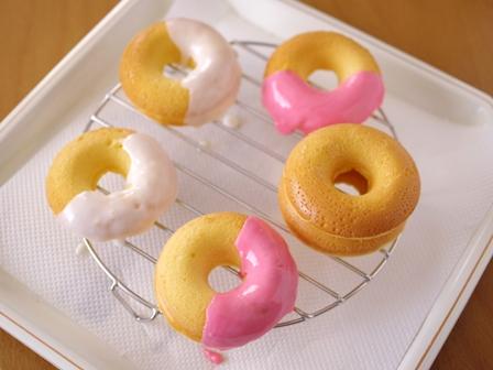 ホットケーキミックスと白玉粉でもちふわ焼きドーナツ06