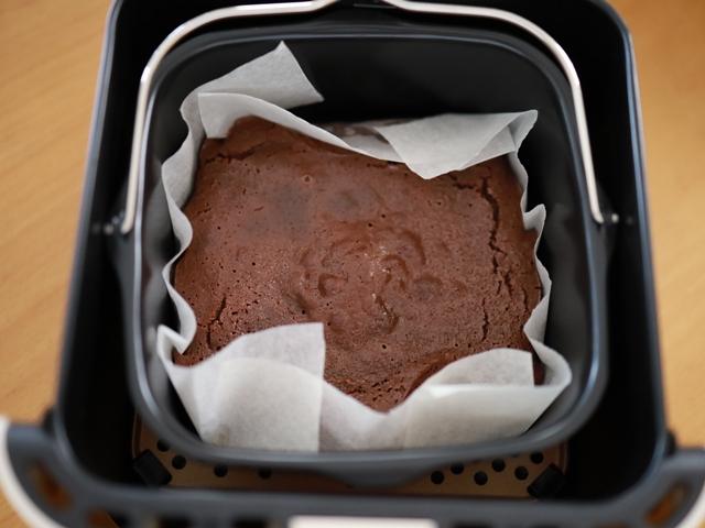 レコルトエアーオーブンで半生ガトーショコラ10