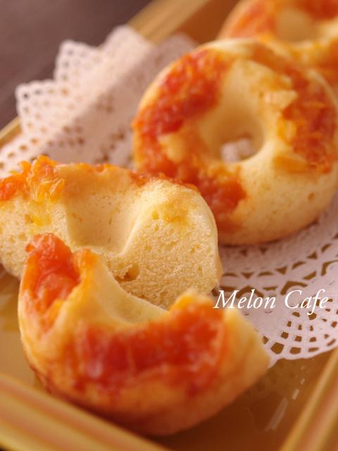 みかんの焼きドーナツ