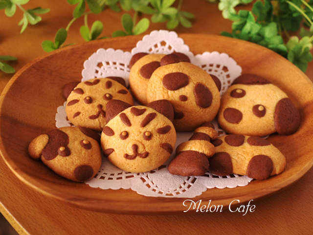 ホットケーキミックスでつくる簡単2色デコクッキー