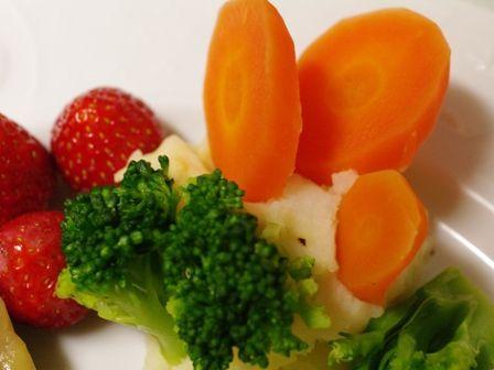 簡単彩りポテトサラダ