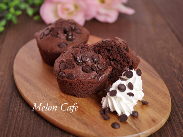 ホットケーキミックスで簡単ココアカップケーキ2種08