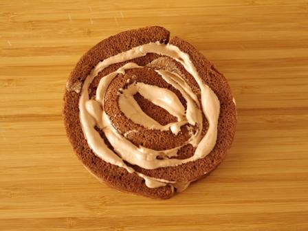 切り株チョコの簡単クリスマスケーキ04