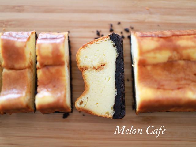 カラメル仕上げのチーズケーキ12