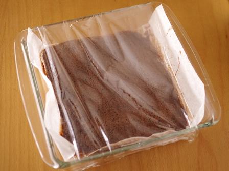 切り株チョコの簡単クリスマスケーキ03