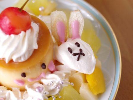 HappyEaster2016プリンちゃんとウサギ
