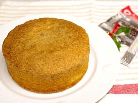 簡単ふわふわホールケーキ