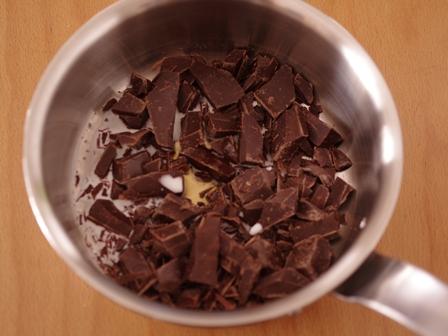 簡単チョコミントの蜂蜜ミルクトリュフ01