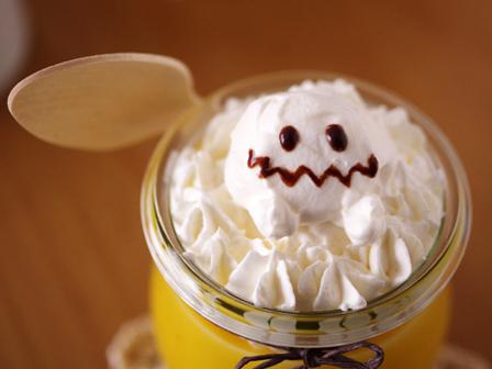 秋のおばけプリンかぼちゃとさつまいも00