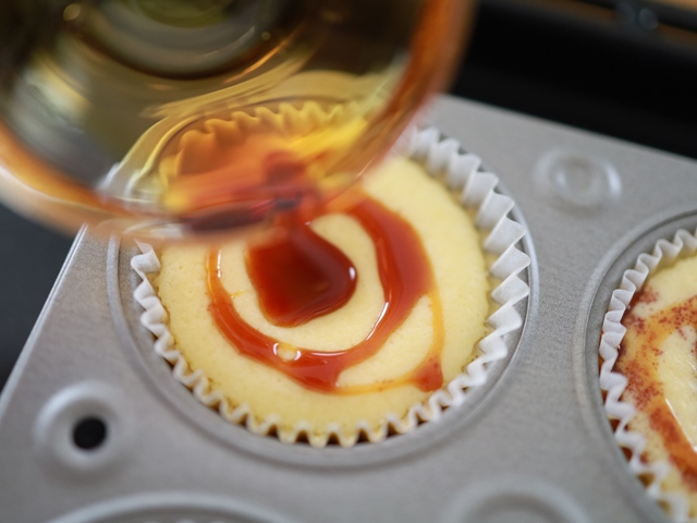 ホットケーキミックスでバスクチーズケーキ05