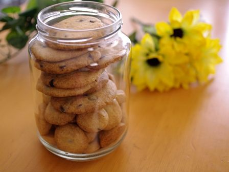 さくさく瓶詰めクッキー