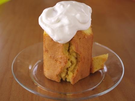 ハロウィンの簡単お化け立体ケーキ02