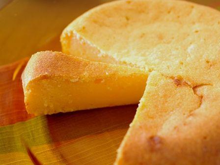 簡単しっとり焼きヨーグルトチーズケーキ04