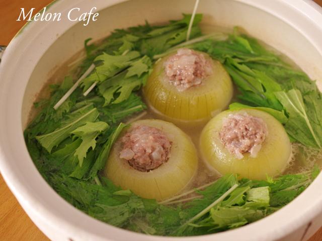 水菜とたまねぎのシャンタン鍋14