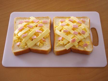 ホット卵サラダチーズトースト03
