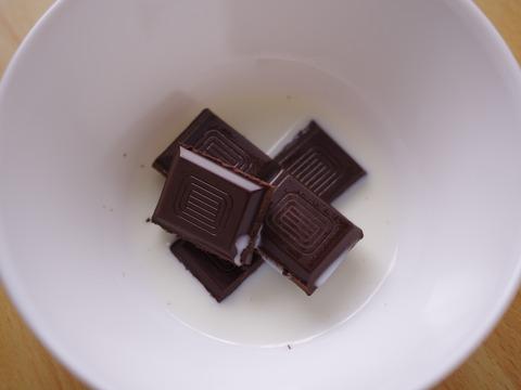 レンジとHMで簡単チョコレートシフォンケーキ04