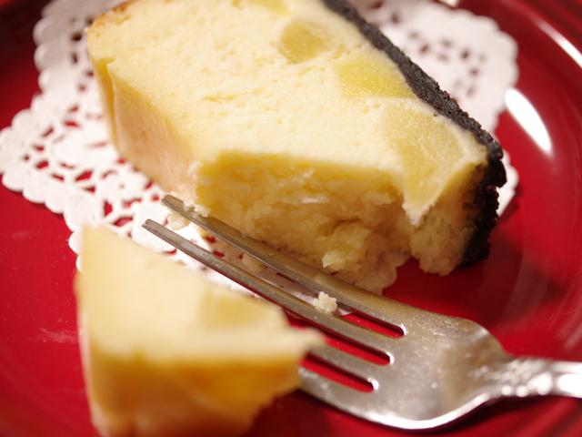 リンゴとホットケーキミックスのチーズケーキ00