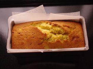 白桃と紅茶のパウンドケーキ06