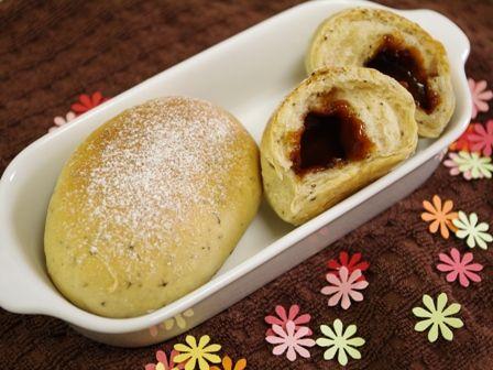 ミルク紅茶のキャラメルパン