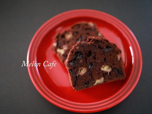 簡単チョコバナナのパウンドケーキ