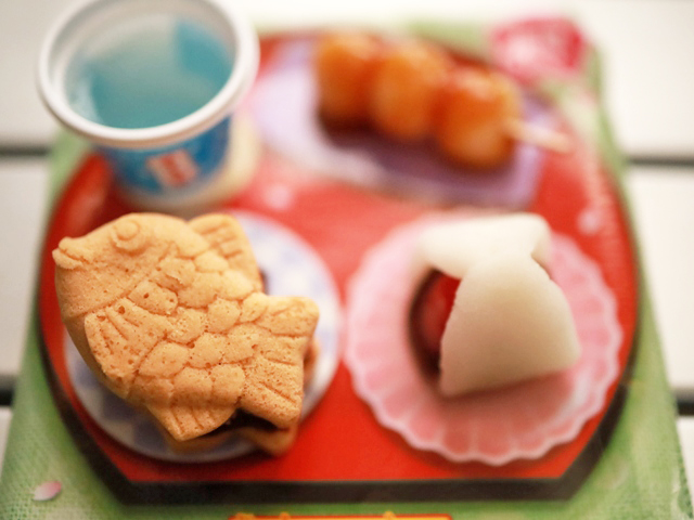 市販菓子大人が作ってみました_たいやき&おだんご_11
