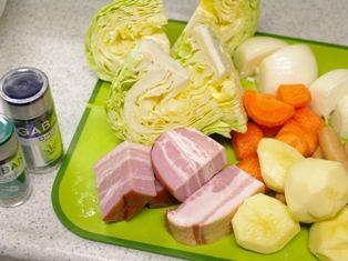 野菜で風邪をふきとばそうポトフ01