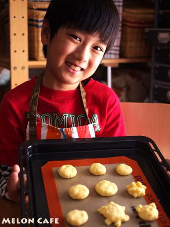 ホットケーキミックスとパパンでつくるカメロンパンのミニクッキー05