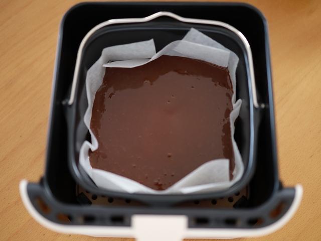レコルトエアーオーブンで半生ガトーショコラ08