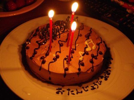 チョコレートケーキ04