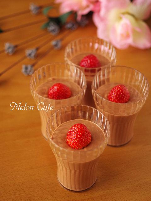 超簡単シンプルなチョコレートムース