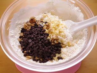チョコとクルミの簡単さくさくクッキー03